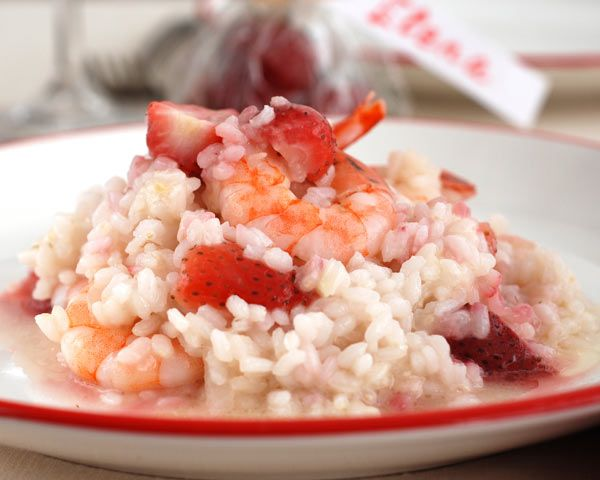 Strawberry Risotto | Recipe