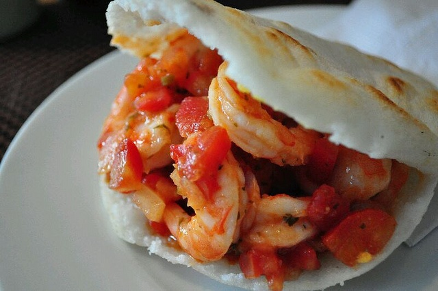 Shrimp Arepas Recipe — Dishmaps