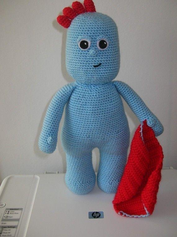 Tombliboo Eee,Makka Pakka,Upsy Daisy and Iggle Piggle - 4 PDF crochet?