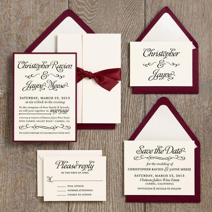 diy wedding invitation templates ideas | trattorialeondoro