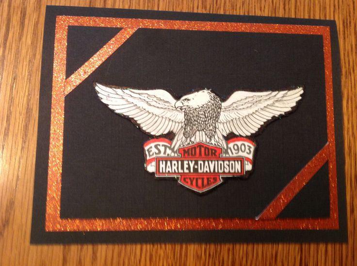 free harley davidson birthday cards online