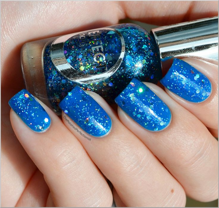 Essence It's Two Bright + Etos Effect Nails 008