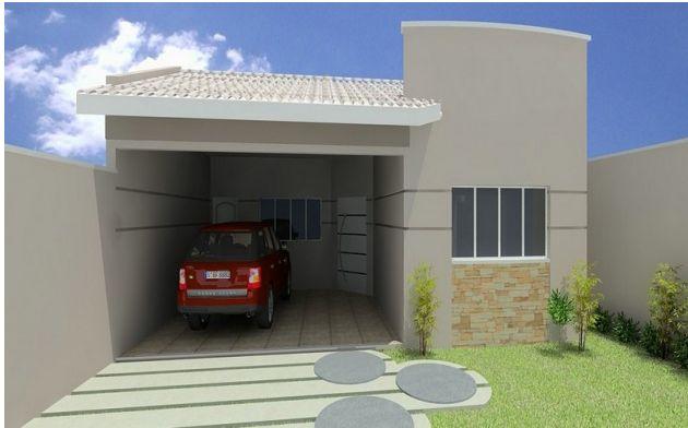 Blog nina matos fachadas de casas pequenas for Fachadas pequenas