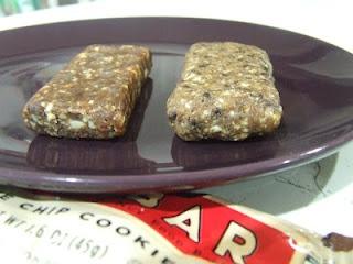 homemade chocolate chip lara bars | Sugar Rush | Pinterest