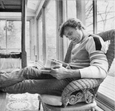 Mikhail Baryshnikov Reading a Book