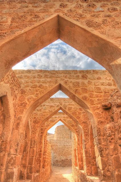 Bahrain Fort Archway, Bahrain
