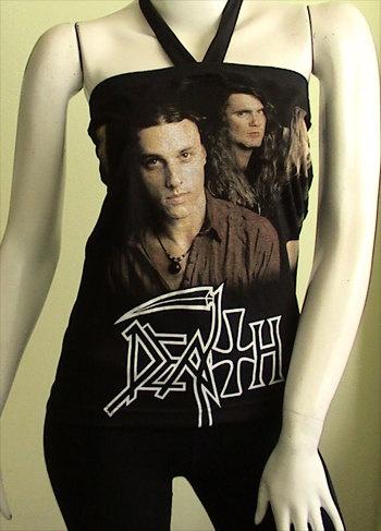 DEATH chuck Metal DIY Women Top Shirt  size Small by obskura, $19.99
