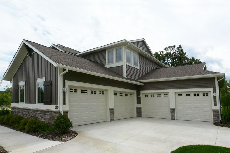 four car garage by eastbrook homes