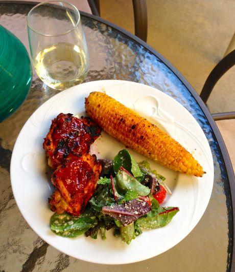 honey chipotle bbq chicken dinner!   {YUMMYYY}   Pinterest