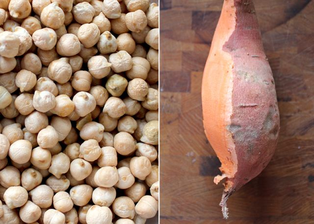 Spiced Sweet Potato Hummus | Decadent Foodie | Pinterest