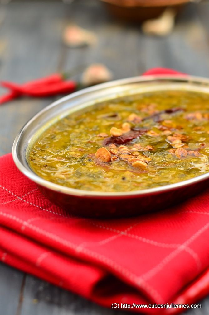 PALAK DAL (LENTILS WITH SPINACH) | Vegan Indian Cooking | Pinterest