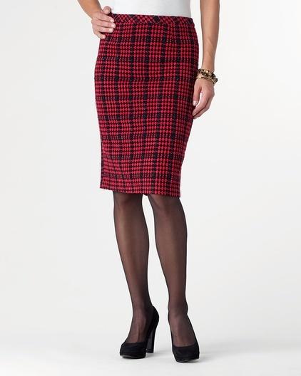 plaid tidings pencil skirt my scottish heritage tartans