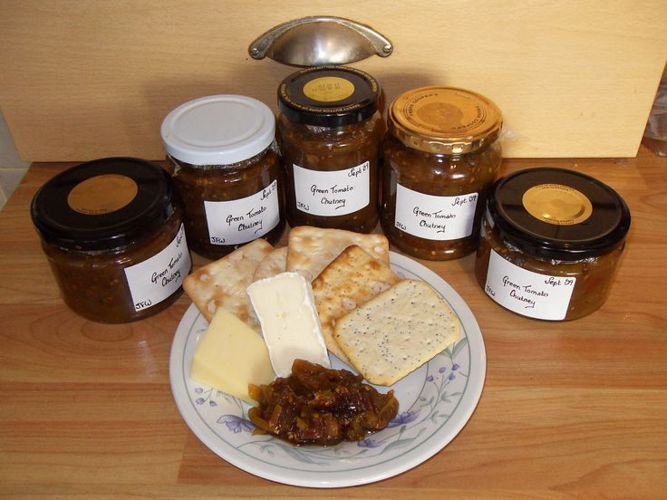 Gran's green tomato chutney. Used this as the jumping off point for ...