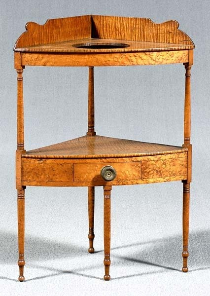 Federal Tiger Maple Wash Stand For The Home Pinterest
