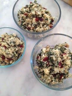 One Pot Kale and Quinoa Pilaf | Recettes | Pinterest