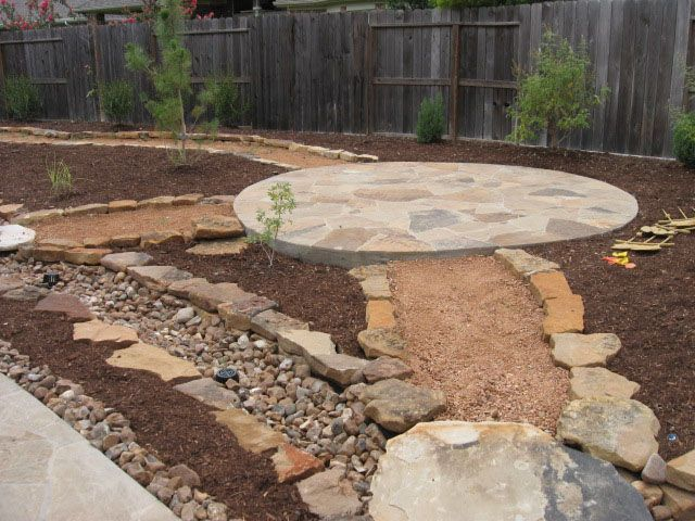 Xeriscape Small Backyard : xeriscape small spaces  Theres no grass in the back yardonly