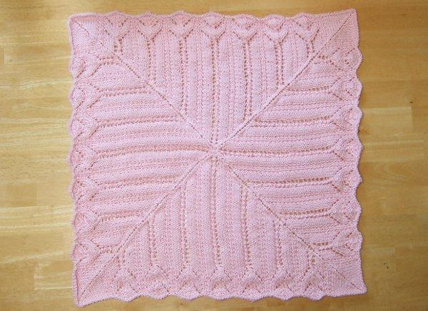 Free Knitting Patterns For Lacy Blankets : knit Lace baby blanket pattern DIY Crochet, Knit, Sewing ...