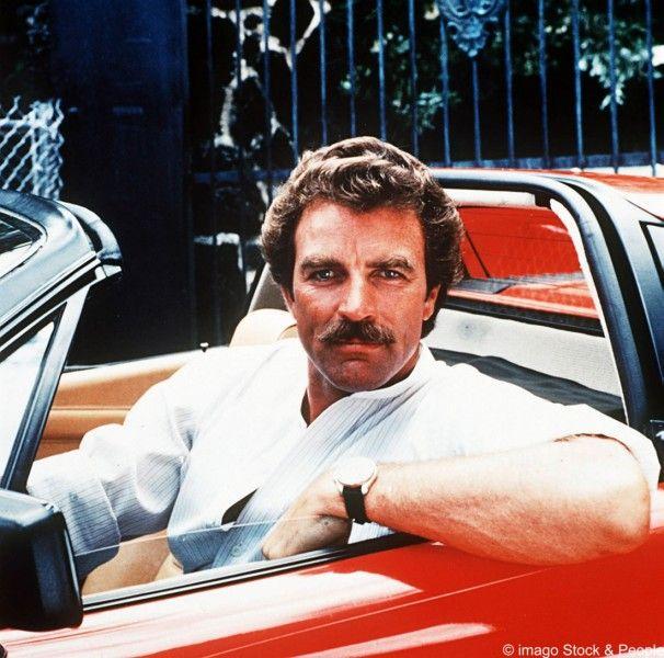 Magnum Tom Selleck Ferrari In A Car Pinterest