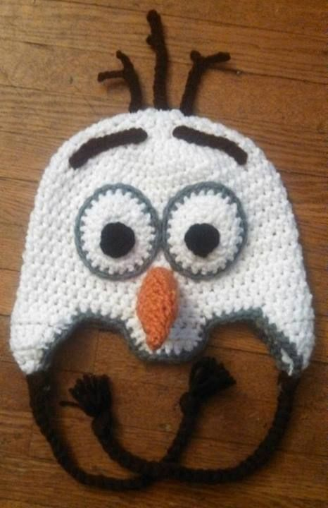 Crochet Free Pattern Olaf : Free Crochet Olaf Hat Party Invitations Ideas
