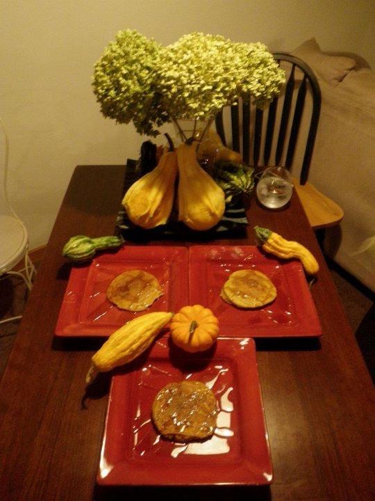 Pumpkin Cinnamon Streusel Pancakes Yield: Serves 4 Ingredients: For ...