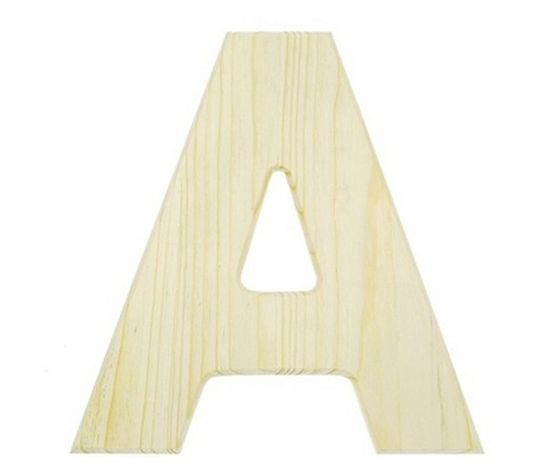 Pinterest for Darice 7 fancy wood letters