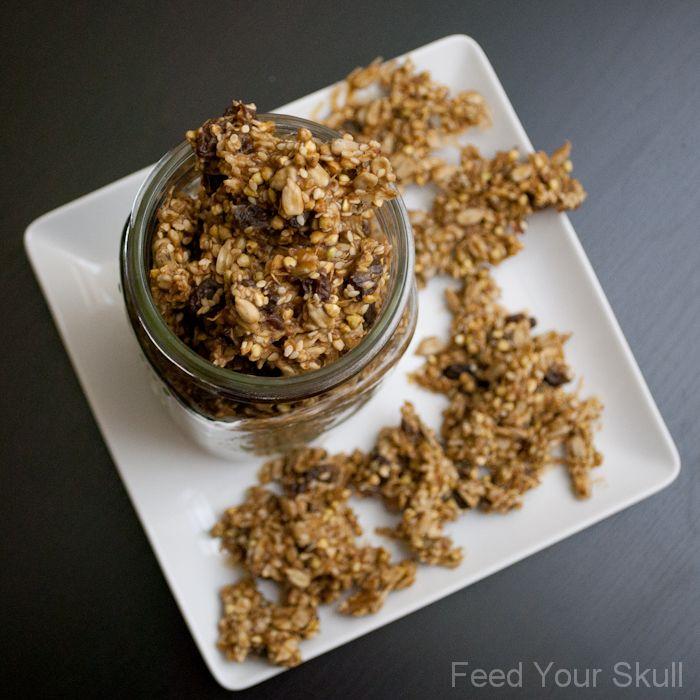 Peanut Butter Buckwheat Nuggets | Recipe