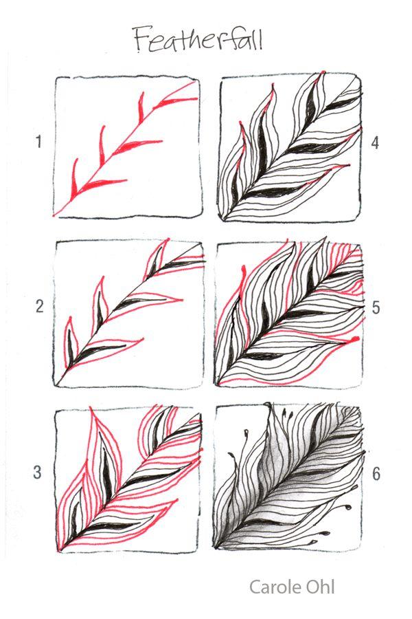 Via                            Zentangle Patterns Tutorial
