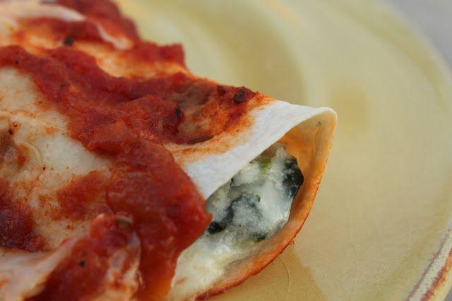 ... Kitchen: Fresh Spinach and Mushroom Enchiladas #ABKblendtecgiveaway