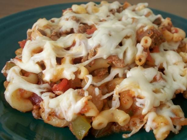 Beef, Macaroni and Tomato Casserole from Food.com: Easy homestyle meal ...