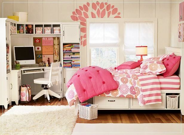 Pink Teenage Girl Bedroom Ideas Pinterest