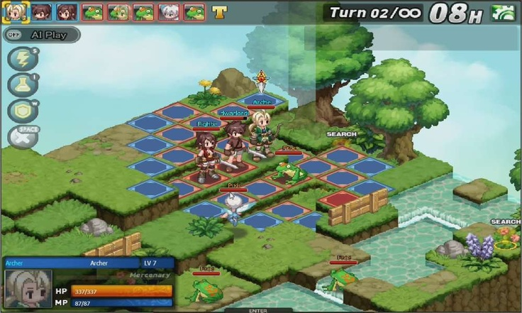 ... Strategy (TBS) MMO Game heavily inspired by classic tactical role