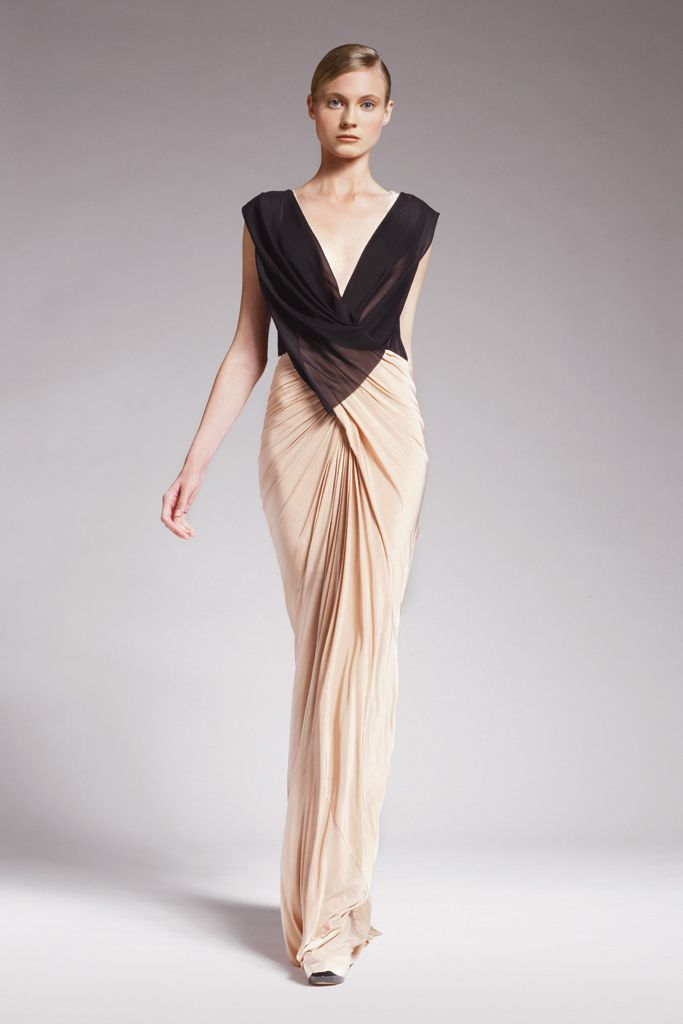 Donna karan resort 2010 for Donna karan wedding dresses