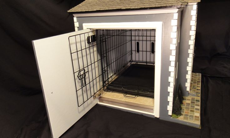 Pin by elaine stearns on doggie mansions beds pinterest - Unique indoor dog houses ...