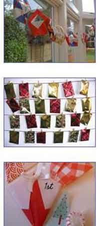 Origami Advent Calendars   Christmas   Pinterest