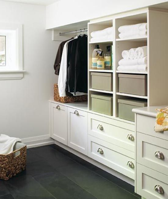 basement storage or laundry room maybe home shelves