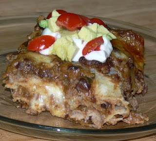 Mexican Lasagna | In the Kitchen with Jenny | Pinterest