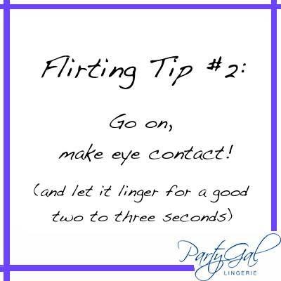 subtle flirting signs