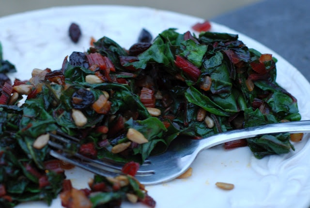 ... Hill to Chickenville: Sauteed Swiss Chard - Enjoying Your Greens