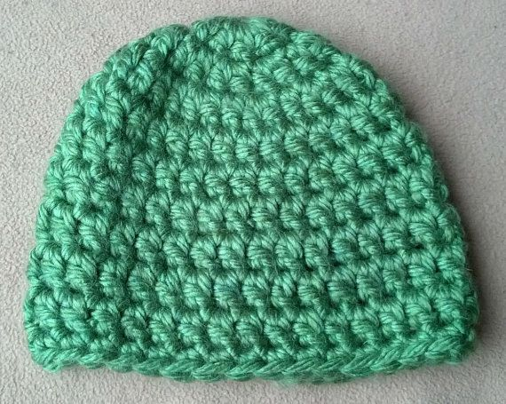 Crochet Chunky Yarn Toddler Hat - Handmade Accessories for ...