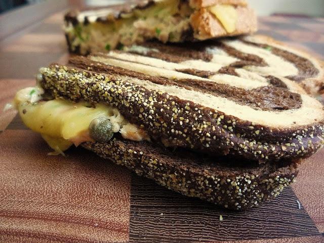 Bacon Tuna Melt Panini Recipe — Dishmaps