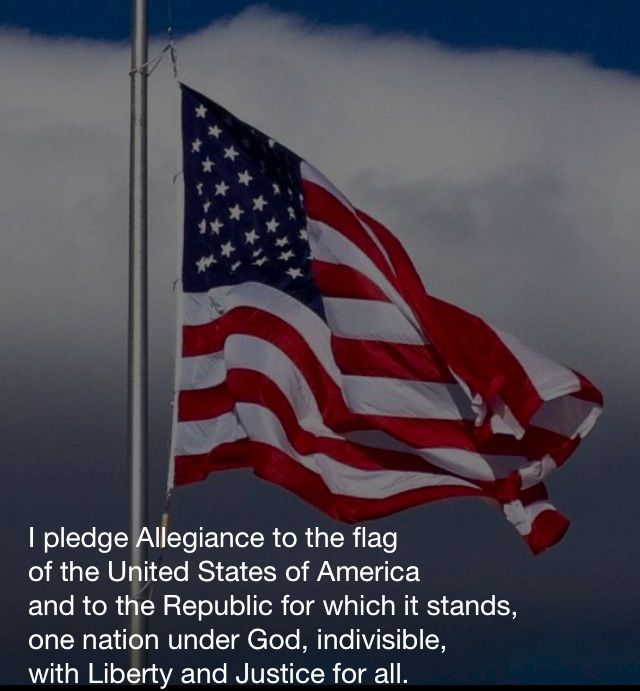 an analysis of my pledge to america I pledge allegiance to the flag of the united states of america, and to the republic for which it stands, one nation under god, indivisible, with liberty and justice for all since so few still.