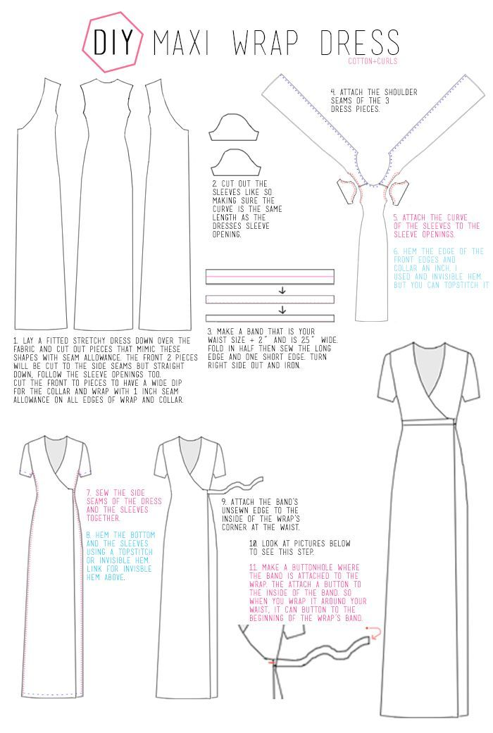 Сшить макси платье