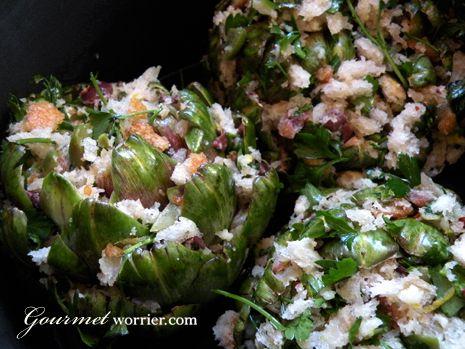 Qaqoċċ mimli - Stuffed artichokes | Healthy food that LOOKS delish ...