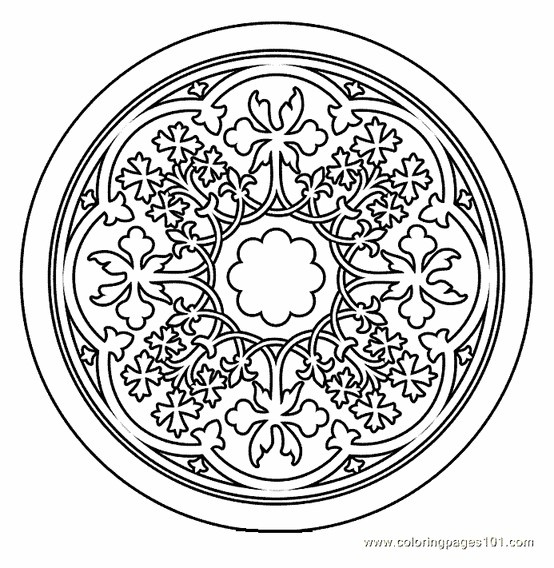 tibetan mandala coloring pages - photo#20