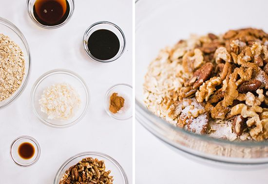 Gingerbread granola...hell yes.