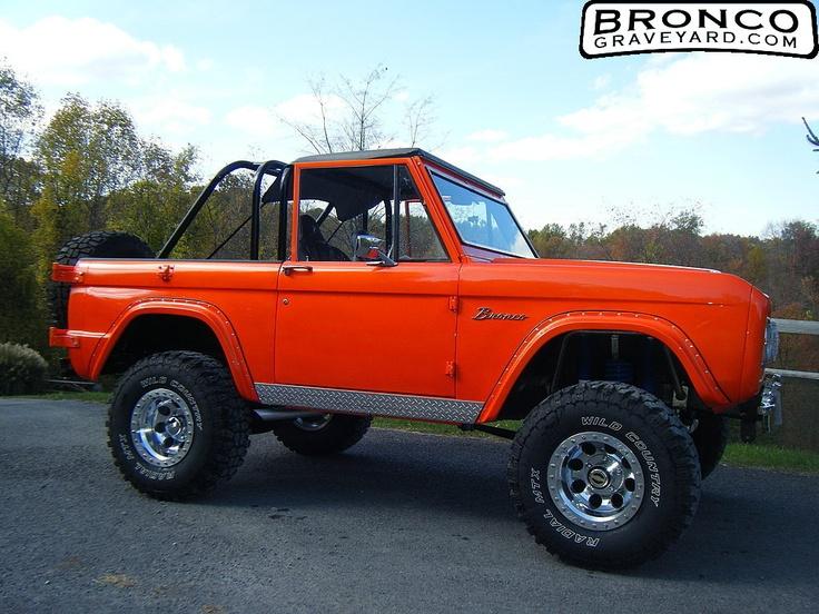 1969 Ford Bronco | Cars | Pinterest