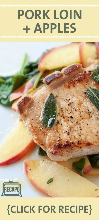 The Chew: Roast Pork Tenderloin Recipe with Apples & Hayden Panettiere