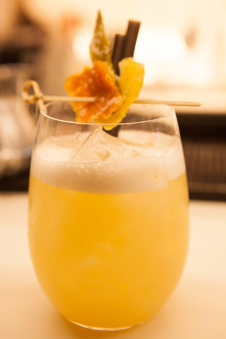 Lemongrass Caipiroska / Lemongrass syrup, ginger, cucumber, vodka