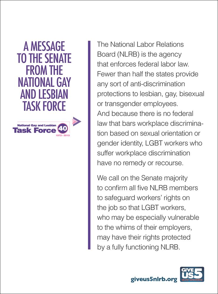 Gay And Lesbian National Task Force