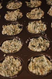 Spinach Ricotta Bites | Favorite Recipes | Pinterest